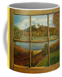 Out My Window-autumn Day Coffee Mug