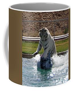 Out Of Africa Tiger Splash 1 Coffee Mug