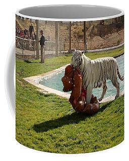 Out Of Africa Tiger Splash 2 Coffee Mug