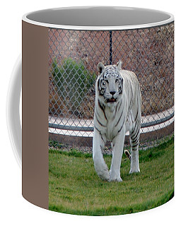Out Of Africa White Tiger Coffee Mug