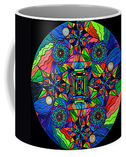 Out Of Body Activation Grid Coffee Mug