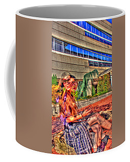 Out Of Phase 2 Coffee Mug by Andy Lawless