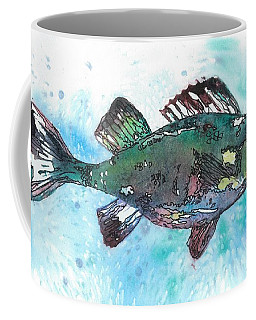 Coffee Mug featuring the painting Out Of School by Barbara Jewell