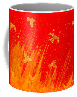 Out Of The Fire Coffee Mug