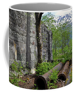 Coffee Mug featuring the photograph Out From The Past by Cathy Mahnke