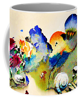 Out Of The Sea - Abstract Coffee Mug