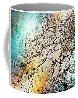 Out On A Limb In Jewel Tones Coffee Mug