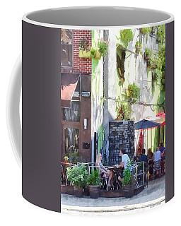 Outdoor Cafe Philadelphia Pa Coffee Mug