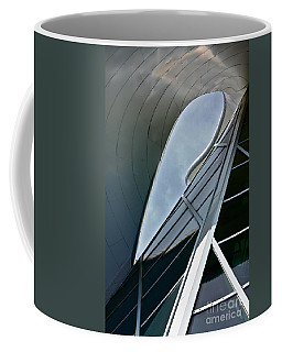 Outer Space Coffee Mug by Linda Bianic