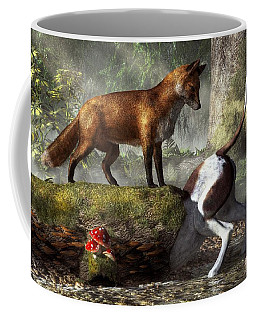 Outfoxed Coffee Mug