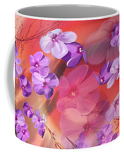 Coffee Mug featuring the painting Outside Inspirations by Janie Johnson
