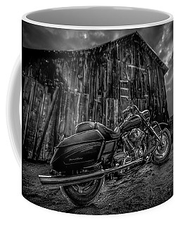 Outside The Barn Bw Coffee Mug