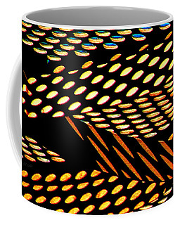 Ovals Of Light Coffee Mug