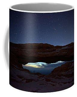 Coffee Mug featuring the photograph Over The Arch by David Andersen
