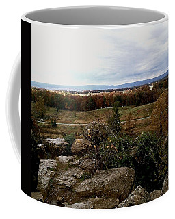 Over The Battle Field Of Gettysburg Coffee Mug