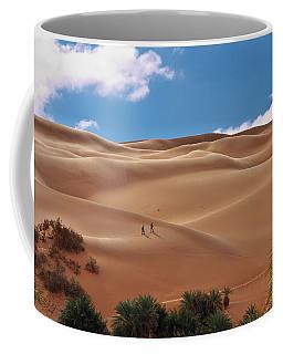 Over The Dunes Coffee Mug
