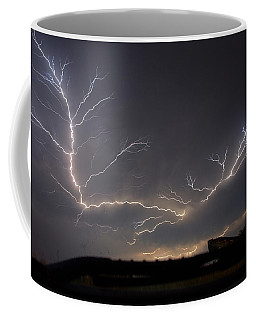 Over The Lake Coffee Mug