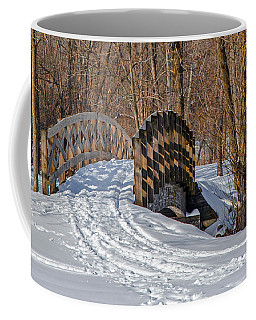 Over The River And Through The Woods Coffee Mug by Susan  McMenamin