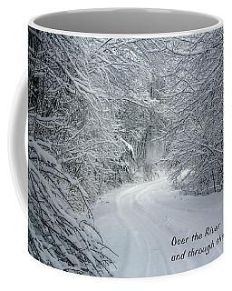 Over The River Coffee Mug by John Haldane