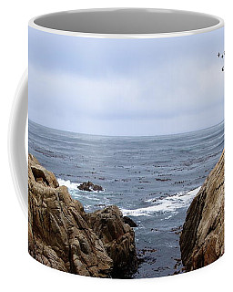 Overcast Day At Pebble Beach Coffee Mug