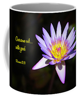 Overcome Evil Coffee Mug