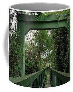 Overgrown Footbridge 1 Coffee Mug