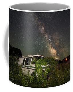 Overgrown Rv Milky Way Wide Angle  Coffee Mug