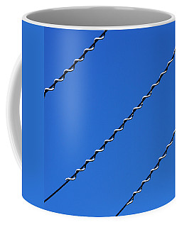 Coffee Mug featuring the photograph Overhead by Wendy Wilton