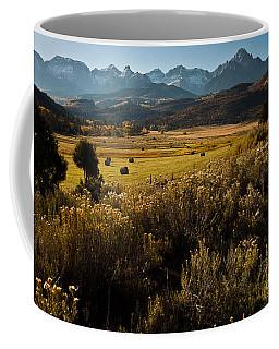 Overlook To Mt. Sneffles Coffee Mug by Steven Reed