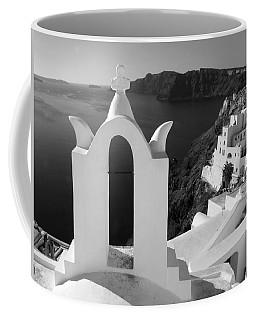 Overlooking The Caldera Coffee Mug