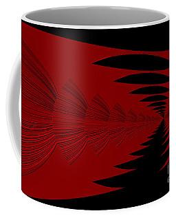 Red And Black Design Coffee Mug