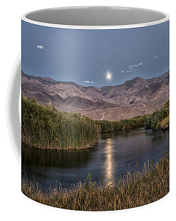 Owens River Moonrise Coffee Mug