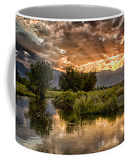 Owens River Sunset Coffee Mug