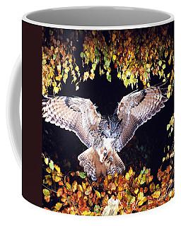 Owl About To Land Coffee Mug