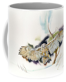 Owl Catches Lunch Coffee Mug