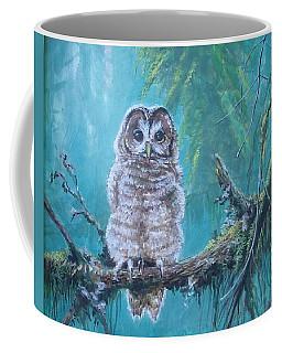 Owl In The Woods Coffee Mug