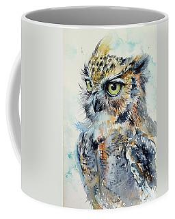 Owl Coffee Mug by Kovacs Anna Brigitta