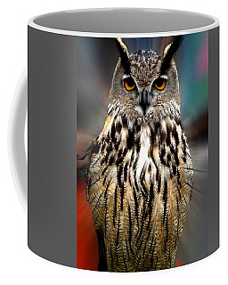 Owl Living In The Spanish Mountains Coffee Mug