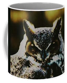 Owl Portrait Coffee Mug