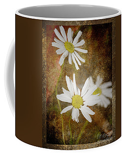 Ox Eye Dasies Coffee Mug by Lynn Bolt