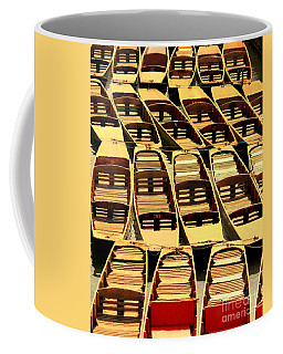 Oxford Punts Coffee Mug by Linsey Williams