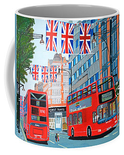 Oxford Street- Queen's Diamond Jubilee  Coffee Mug