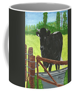 Oxleaze Bull Coffee Mug