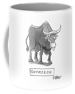 'oxymoron' Coffee Mug