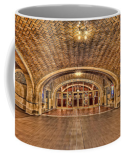 Oyster Bar Restaurant Coffee Mug by Susan Candelario