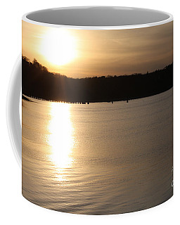 Oyster Bay Sunset Coffee Mug by John Telfer