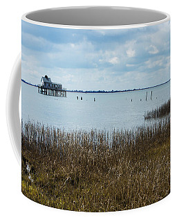 Oyster Shack And Tall Grass Coffee Mug