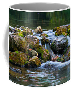 Ozark Waterfall Coffee Mug by Steve Stuller