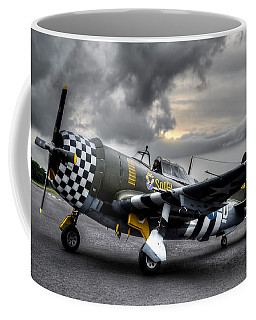 P-47 Sunset Coffee Mug