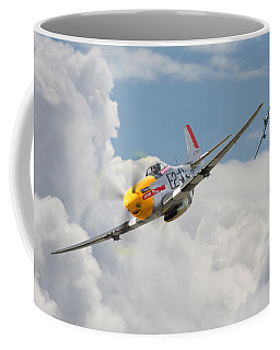 P51 Mustang And Me 262 Coffee Mug